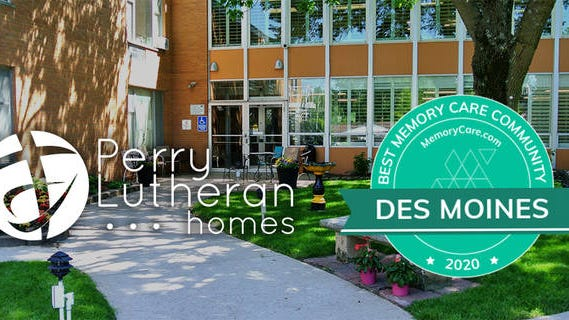 Perry Lutheran Homes has been named one of the best facilities for memory care in the Des Moines area in 2020 by MemoryCare.com. CONTRIBUTED PHOTO