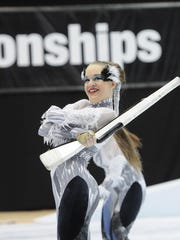 Corning-Painted Post High School will be a first-time host Saturday of the regional color guard competition on the Winter Guard International circuit. Thirty-three teams from three states and Canada will compete.