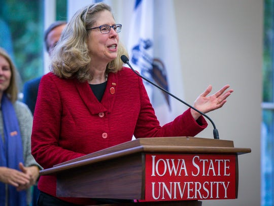 Iowa State's current Dean of Agriculture and Life Sciences