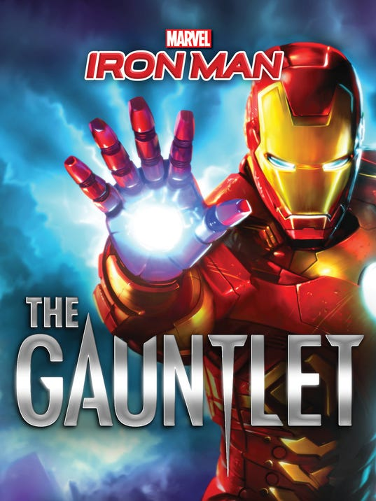 Iron Man novel cover