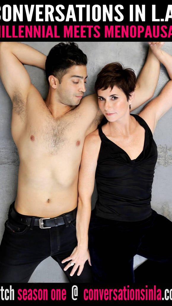 Anne Marie Cummings and Gustavo Velasquez star in 'Conversations in L.A.'