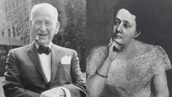 Red Dwyer and Carrie Collins