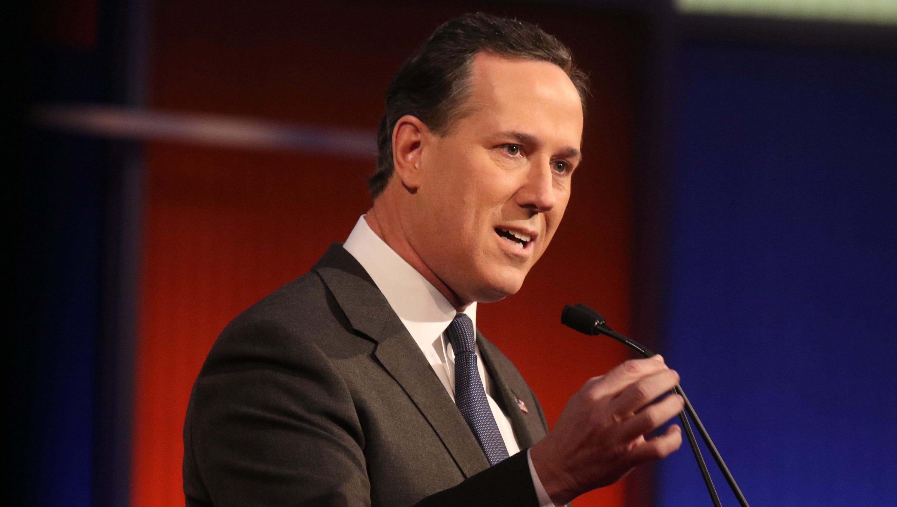 Rick Santorum Can T Name Any Of Marco Rubio S Accomplishments