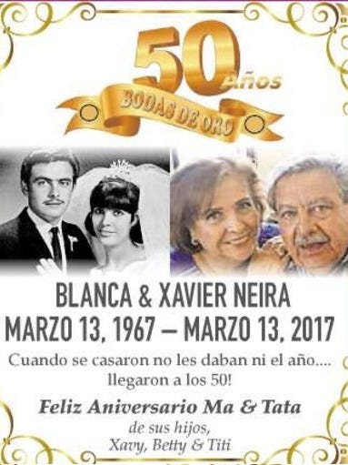 Blanca and Xavier Neira