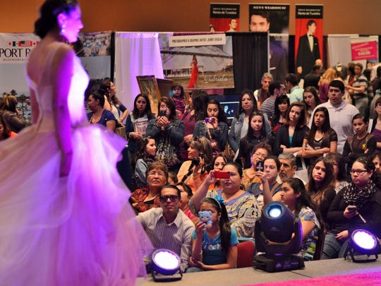 The Engagement Party Bridal Show will showcase wedding vendors from across Corpus Christi at the Congressman Solomon P. Ortiz International Center from noon to 4 p.m. Sunday. Each vendor will showcase stylish wedding trends for South Texas brides. Tickets to the event are $8. for more information, visit engagementpartycc.bpt.me/.