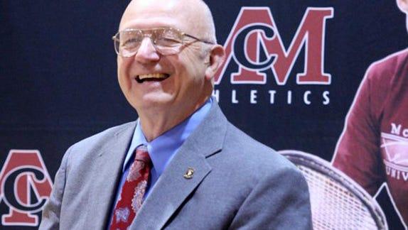 McMurry University professor Bill Libby.