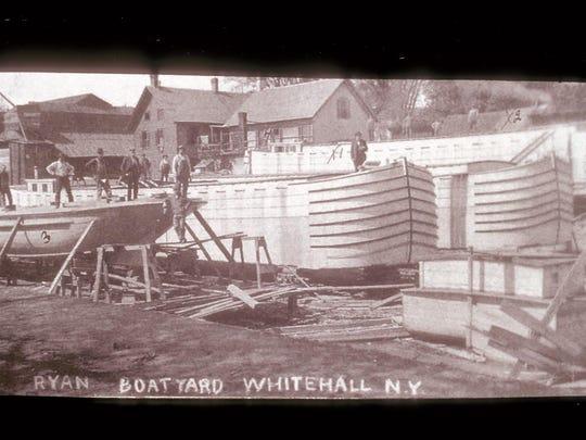 8. Whitehall boatyard