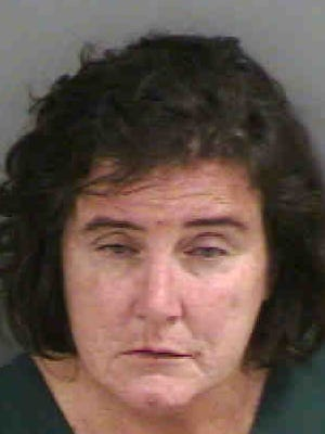 Jennifer Dewire was arrested Monday and faces a misdemeanor charge of battery and a felony charge of obstructing justice.