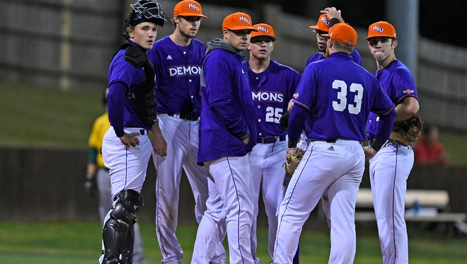 Northwestern State's Bobby Barbier is the Demons' new head coach.