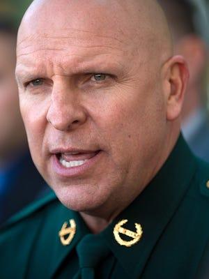Sheriff Mike Scott.