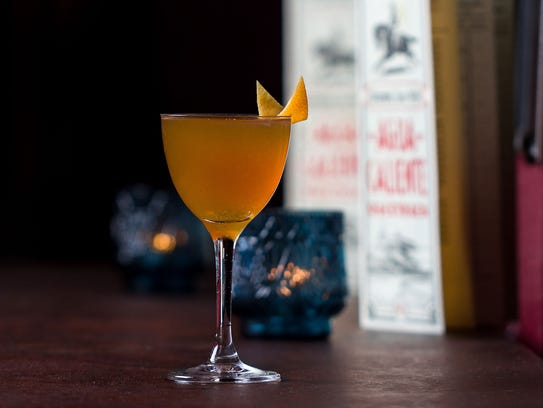 The Phar Lap, a drink on the new Agua Caliente racetrack-inspired