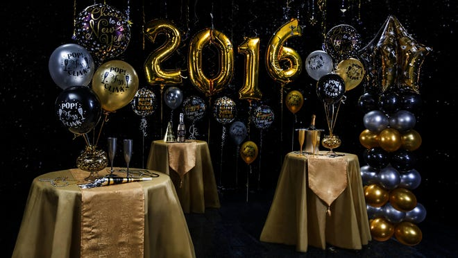 Party City carries party kits, balloons, holiday wearables and festive tableware for your New Year's Eve soirée.