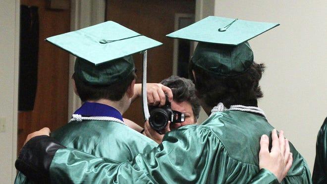 Salem Academy graduation.