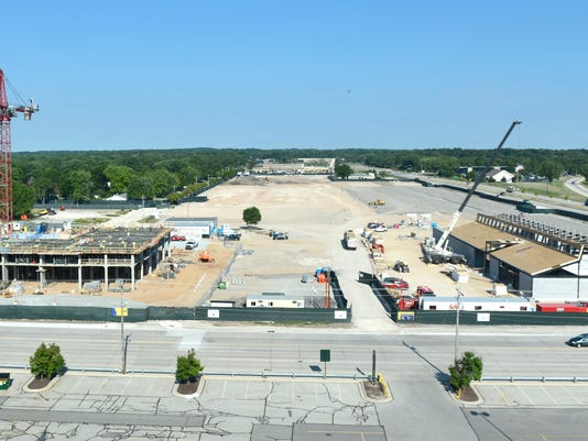 Titletown District in August