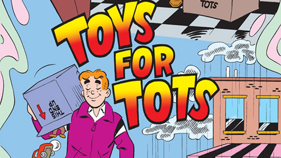 Toys For Tots Application 2013 : Archie comics toys for tots partner new initiative
