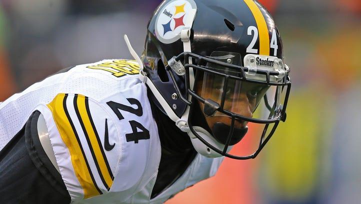 Steelers release cornerback Justin Gilbert