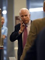 "John McCain is the subject of the HBO documentary ""John"