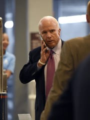 "John McCain is the subject of the HBO documentary ""John"