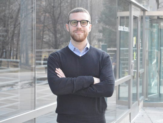 Binghamton University graduate Erik De Monte