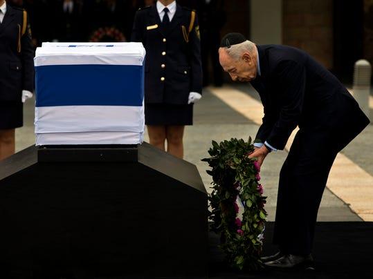 AP APTOPIX Mideast Israel Obit Ariel Sharon