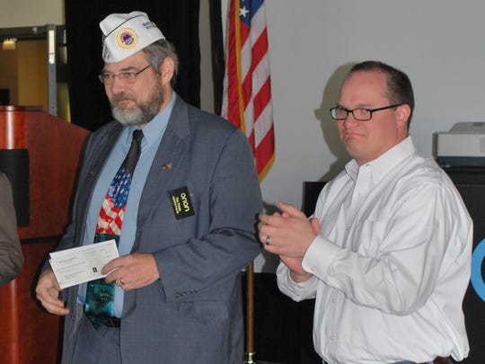 May 31, Orion made a $5,000 donation to the AMVETS