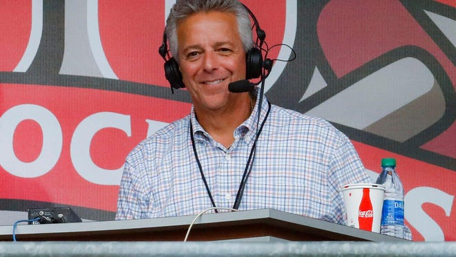 Thom Brennaman has broadcast Cincinnati Reds games on radio and TV since 2007.