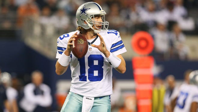 Kyle Orton, who played for the Dallas Cowboys last season, has signed with the Buffalo Bills.