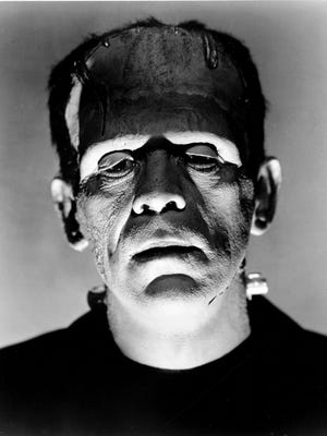 Boris Karloff in a scene from the motion picture Frankenstein.