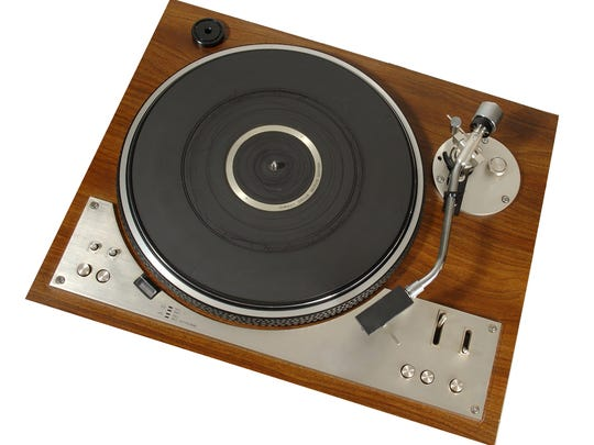 Collectors seek cash for vintage record players.