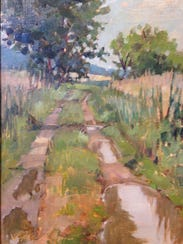 """After the Rain"" by Jill Stefani Wagner at Ann Arbor's"