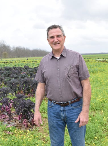 Lee Weeks, operations manager of the 3,500-acre, certified-organic Inglewood Farm in central Louisiana, was among the first to apply for the Louisiana Grown program in January 2013.