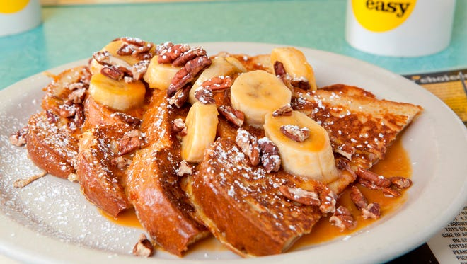 French toast at Over Easy.