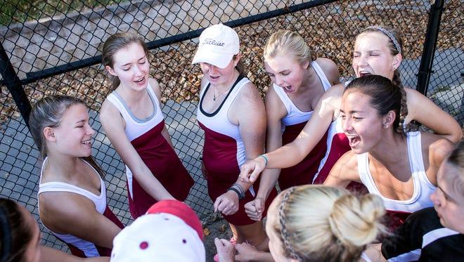 Asheville High's girls tennis team won the 3-A Western Regional championship on Wednesday.