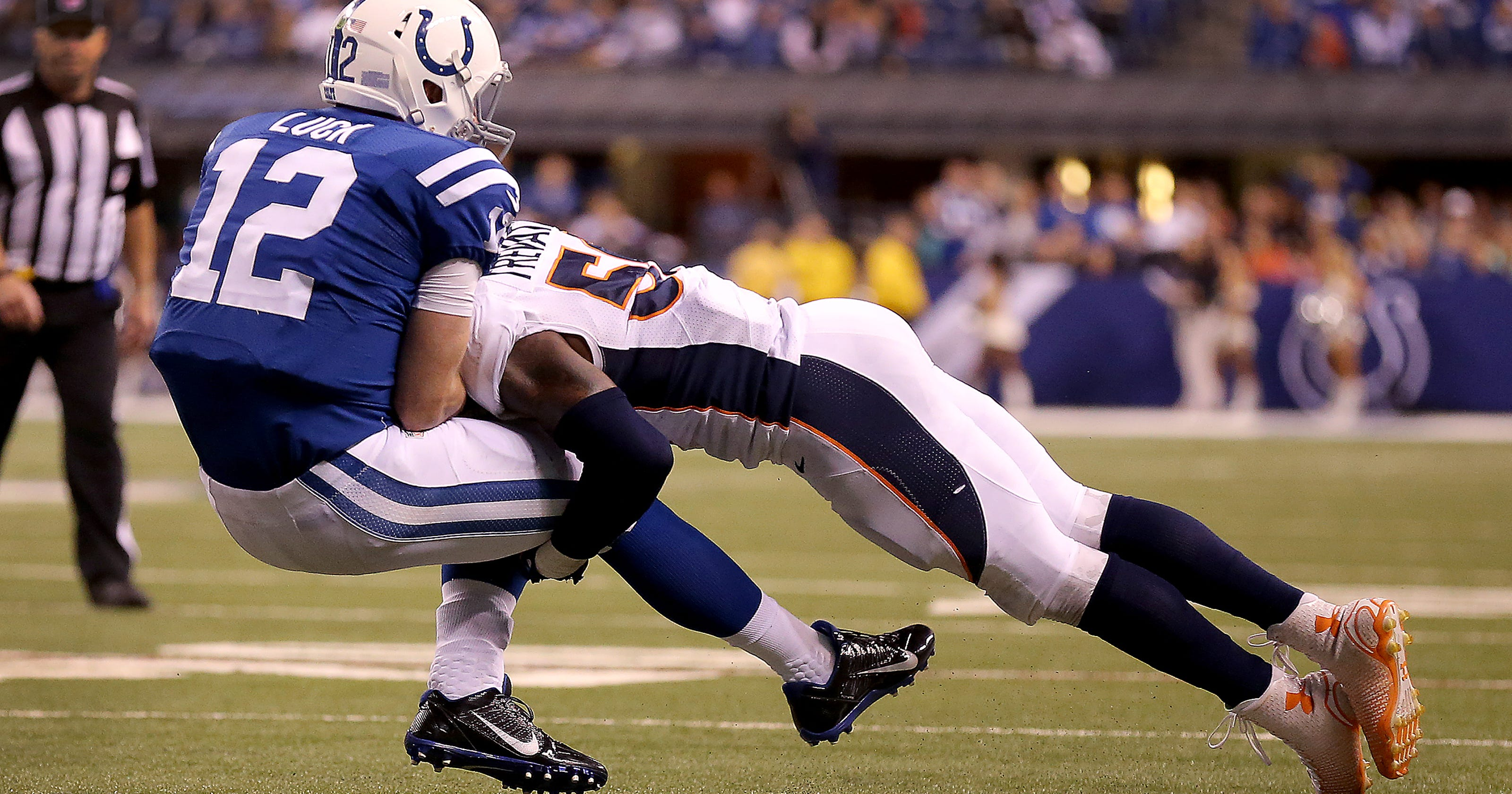 fb1cf6918189 Indianapolis Colts  Andrew Luck s shoulder injury timeline