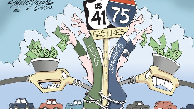 Gas hikes commentary from Doug MacGregor