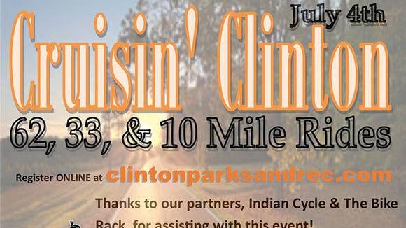 Crusin' Clinton bicycle ride