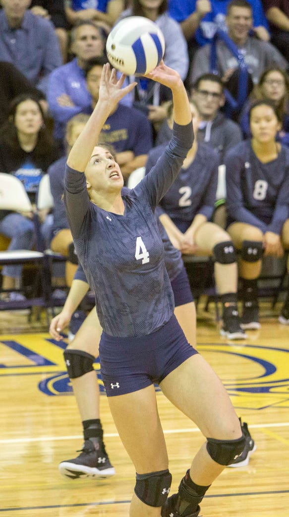 Immaculate Heart setter Julia Morris led the state with 900 assists in 2017.