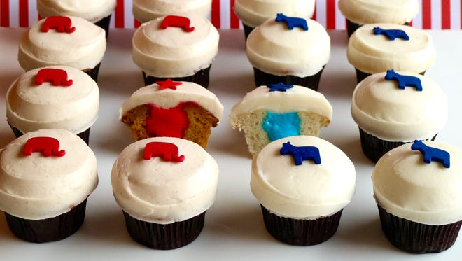Sprinkles is offering Trumpkin and Vanillary cupcakes at all locations November 1-8.
