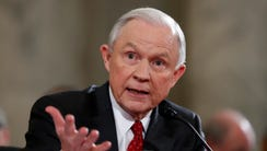 U.S. Attorney General Jeff Sessions says Department
