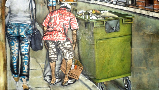 """Eduin Fraga's """"Recojedor de Materia Prima/Picking Up Recyclables"""" documents daily life in Cuba."""