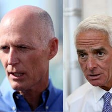 Rick Scott and Charlie Crist