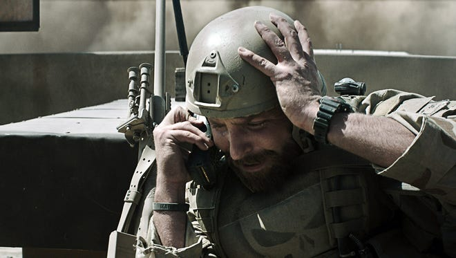 "Bradley Cooper stars as Navy SEAL sniper Chris Kyle in ""American Sniper."""