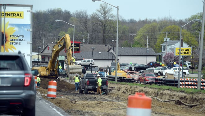 Road work will return to U.S. 27 through Richmond in 2021, according to the state's new Next Level Roads program.