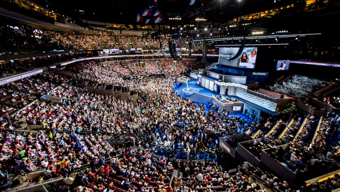 news democratic national convention