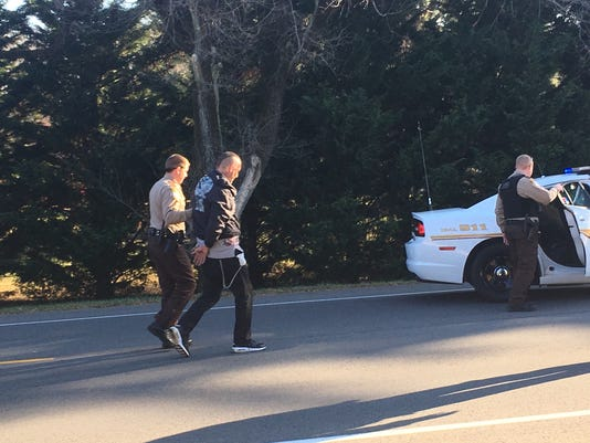 Suspect arrested in high-speed chase