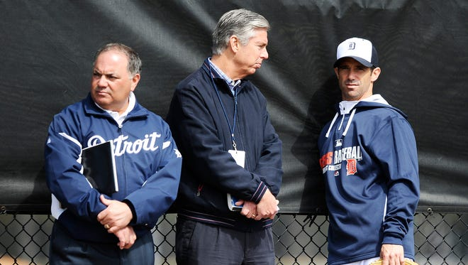 In a short time, Al Avila, left, has proven to be quite different from his predecessor, Dave Dombrowski.
