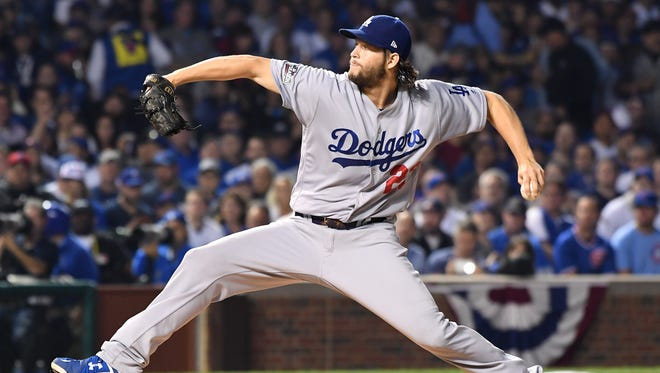 Dodgers pitcher Clayton Kershaw is set to face the Chicago Cubs in Game 6 of the National League Championship Series on Saturday at Wrigley Field.