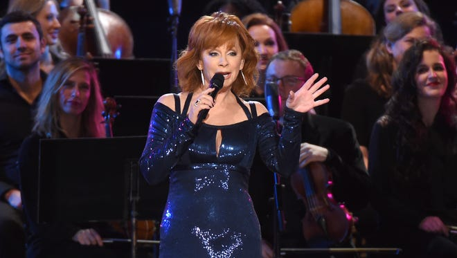 Reba McEntire played two shows Wednesday at the Ryman Auditorium.