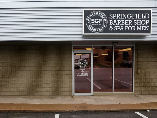 The Springfield Barbershop & Spa for Men is located