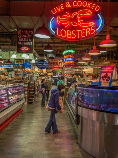 America 39 s seafood markets for Fish market philadelphia